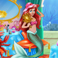 Mermaid Makeup Room